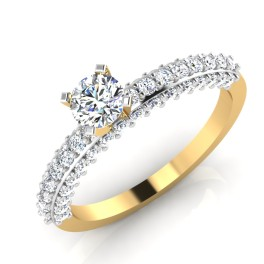 The Affianced Solitaire Ring