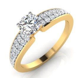 The Pledging Solitaire Ring