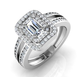 The Mokya Solitaire Ring