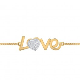The Diamond Love Chain Bracelet