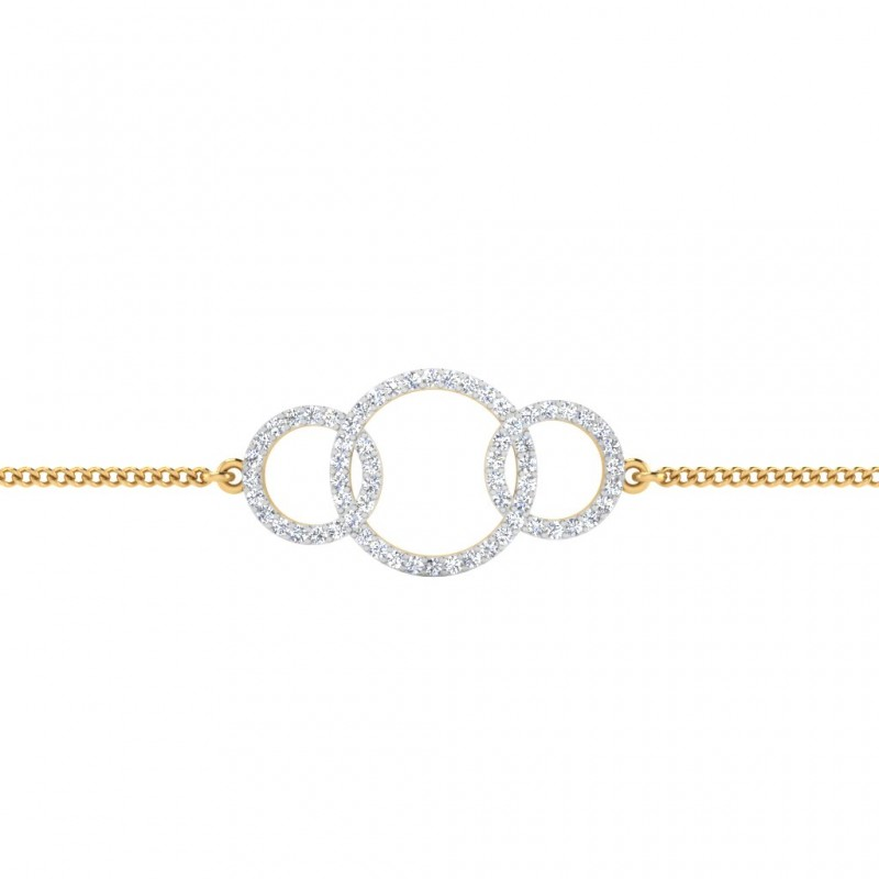 The Infinity Diamond Bracelet
