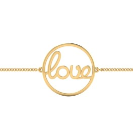 The Love Life Gold Bracelet