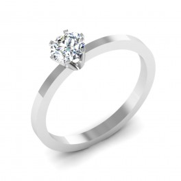 The Layla Solitaire Ring
