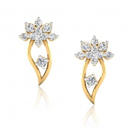 The Aabha Diamond Stud Earrings
