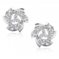 The Harsha Silver Stud Earrings