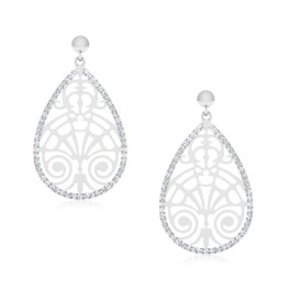 The Capicarnia Silver Dangle Earrings