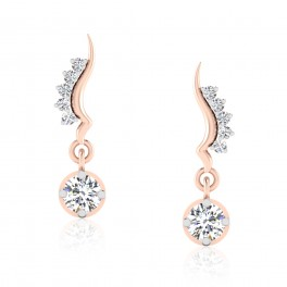 The Loreal Solitaire Drop Earrings