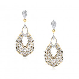 The Park Diamond Dangle Earrings