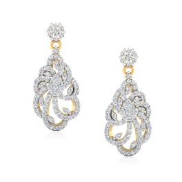 The Vinudh Diamond Dangle Earrings