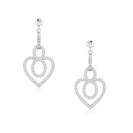 The Exila Silver Dangle Earrings