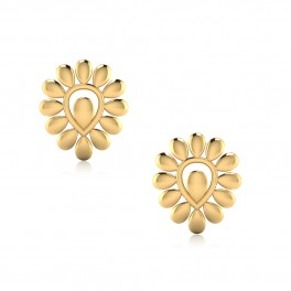 The Botanic Gold Stud Earrings