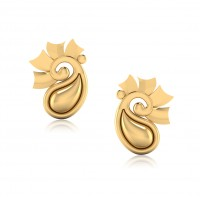 The Blossom Gold Stud Earrings
