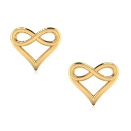 The floret Gold Stud Earrings
