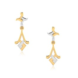 The Spray Drop Gold Earrings