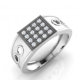 The Jasbir Diamond Mens Ring