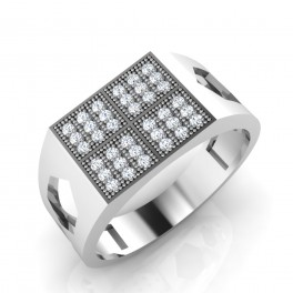 The Evans Diamond Mens Ring