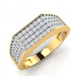 The Wasima Diamond Mens Ring