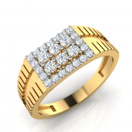 The Hommy Diamond Mens Ring