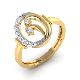 The Ethereal Diamond Ring