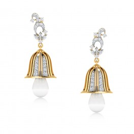 The Maisie Diamond Jhumkas