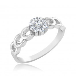 The Magical Cluster Diamond Ring