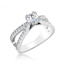 The Mangolia Solitaire Ring