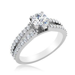 The Eximious Solitaire Ring