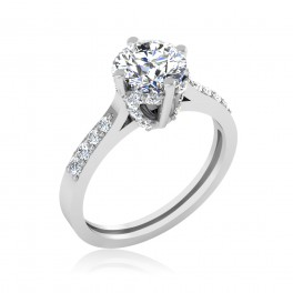 The Dreading Solitaire Ring