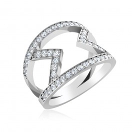 The Starlight Silver Ring