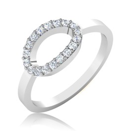 The Oval Diamond Ring