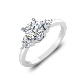The Bond Solitaire Ring