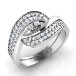 The Flirtina Silver Ring