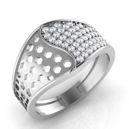 The Checkered Silver Ring