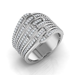 The Majestic Silver Ring