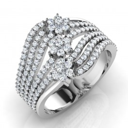 The Mesmeric Silver Ring