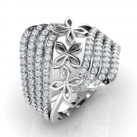 The Charming Silver Ring