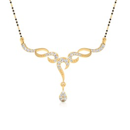 The Tuhina Diamond Mangalsutra