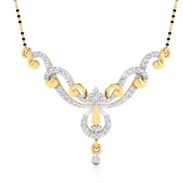 The Harshini Diamond Mangalsutra