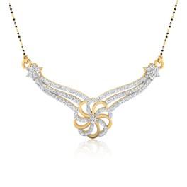 The Pariyati Diamond Mangalsutra