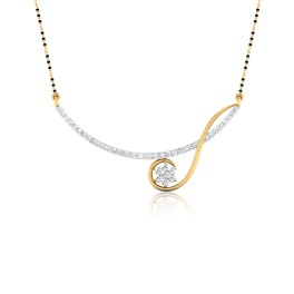 The Eklavya Diamond Mangalsutra