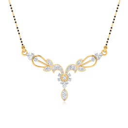 The Akruti Diamond Mangalsutra