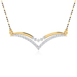 The Samalia Diamond Mangalsutra