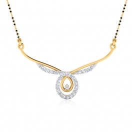 The Amolika Diamond Mangalsutra