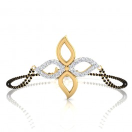 The Anya Diamond Mangalsutra Bracelet