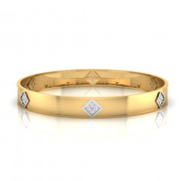The Foster Men's Diamond Kada