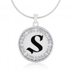 The Radiant S Pendant