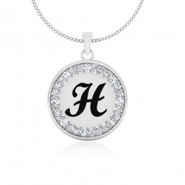The Radiant H Pendant
