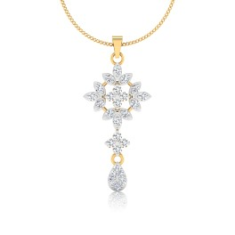 The Samrina Diamond Pendant