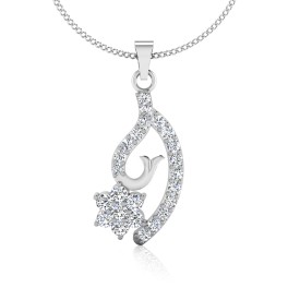The Aasta Silver Pendant