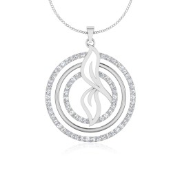 The Janifer Silver Pendant